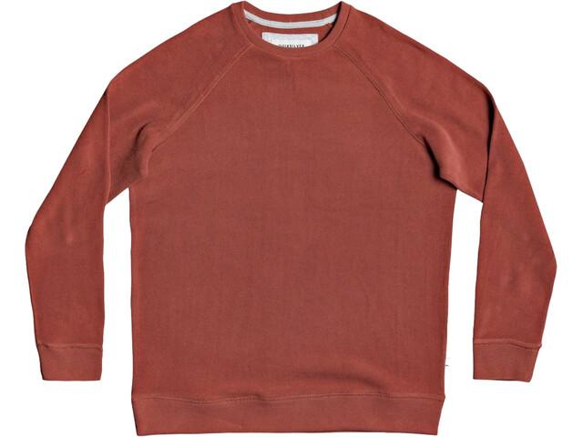 Quiksilver Toolangi Slate Suéter Hombre, rojo